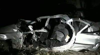(video) Accident grav în apropiere de Bulboaca: un tânăr a murit, alți patru sunt în stare gravă la spital