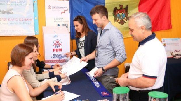 Aproape 98 de mii de persoane au participat la alegerea deschisă a candidaţilor PDM pentru Parlament