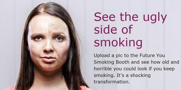 (video) Experiment: Încarcă poza ta și vezi cum ai arăta peste 20 de ani de fumat
