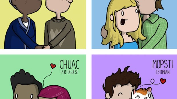 (foto) Ce sunete au săruturile și sforăitul în alte limbi?