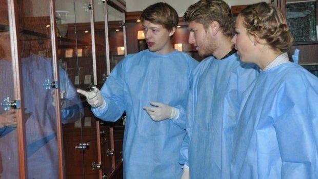 (foto) Mai mulți studenți danezi au făcut lecții practice la o universitate din Moldova
