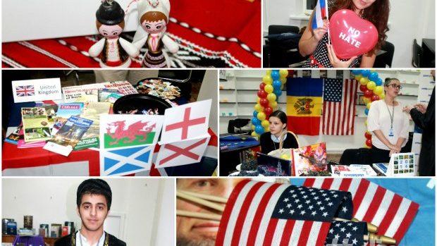(foto) Tinerii din 26 de țări și-au prezentat cultura la Global Village