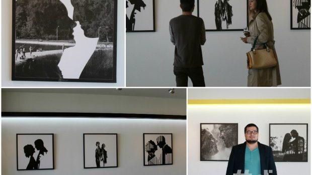 (foto) Emoția transpusă artistic în combinațiile monocrome dragoste-natură ale lui Ion Boicu