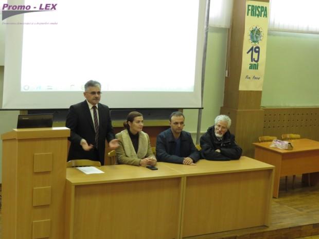 Lansarea Clubului de Dezbateri și Discuții la FRIȘPA PC: Promo-LEX