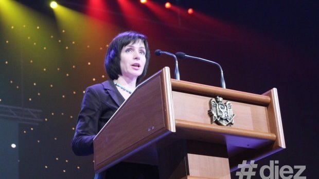 Discursul ministrului Maia Sandu cu prilejul Zilei profesionale a lucrătorilor din învățământ