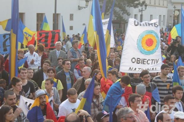 Marşul pentru Basarabia în Piaţa Sfântul Anton