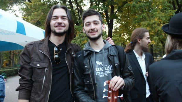 (foto) Concert sub cerul liber în Grădina Publică Ştefan cel Mare