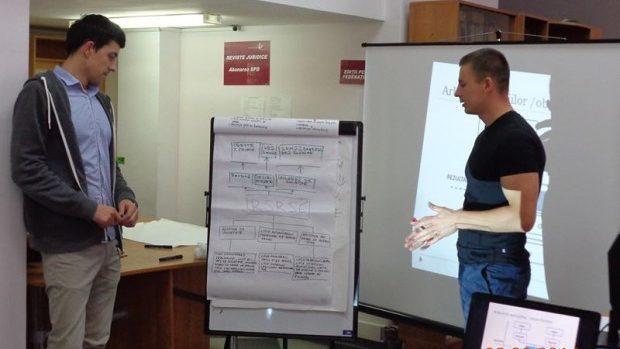 Ce au învățat tinerii juriști la training-ul cu Olga Melniciuc