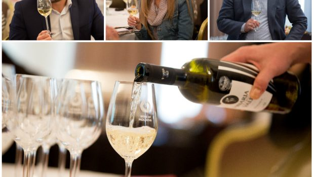 (foto) Jurnaliștii au participat la un masterclass de degustare a vinurilor