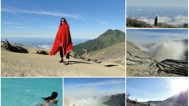 (foto) Aventurile Dianei Mocanu în Indonesia: Platoul Ijen