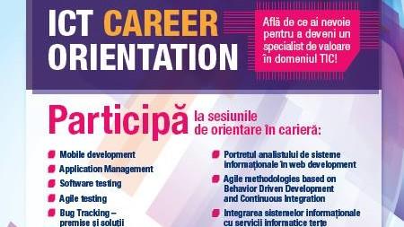 ICT Career Orientation – eveniment de orientare profesională  pentru studenții de la specialitățile TIC