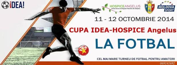 Cupa IDEA-HOSPICE Angelus la fotbal: o competiție amicală și de susținere a unei cauze nobile