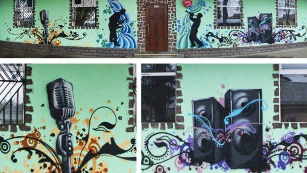 (foto) Un nou desen de street art marca iZZy iZVNE a apărut la Telecentru