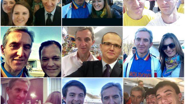 (foto) Selfie cu Leancă – unul din cele mai noi trenduri pe Facebook-ul din Moldova