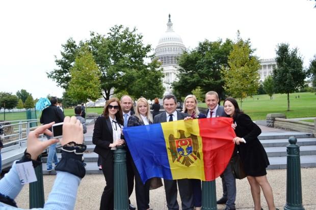 Echipa care a fost prin programul Open World împreună cu Cristina PC: Cristina Mîțu