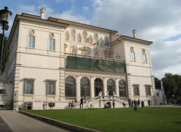 Galeria Borghese. PC: tripadvisor.md