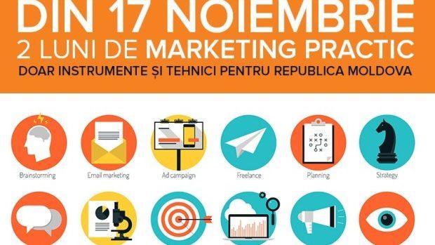 Puneți-vă bazele cunoștințelor despre promovare la Școala de Marketing 2014