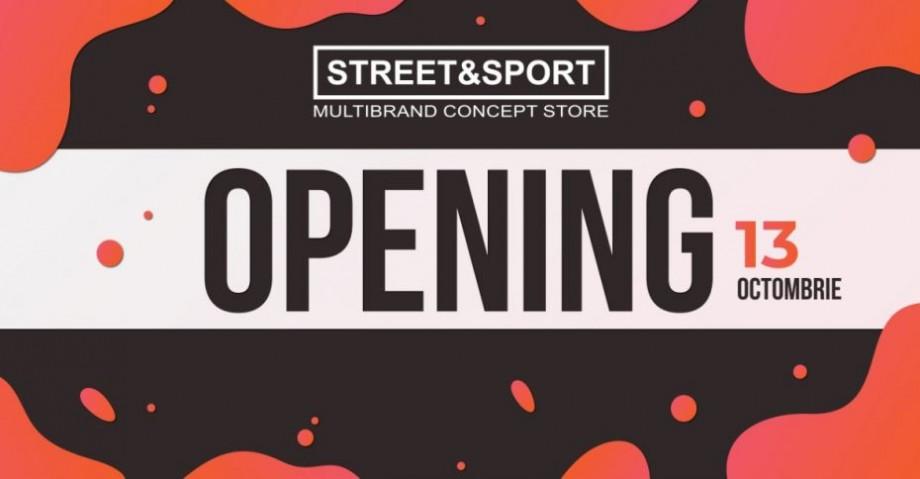 STREET&SPORT deschide, în sfârșit, un magazin și în Shopping MallDova. Vino și profită de 20% reducere!