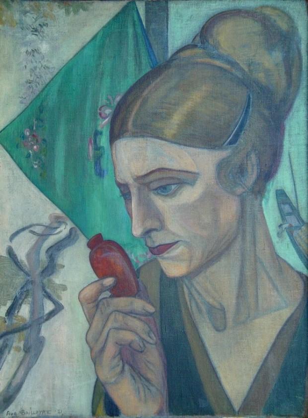 A. Baillayre, Portretul soţiei, 1921