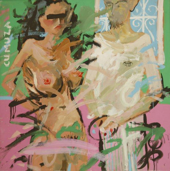 Pictură de Liviu Nedelcu. PC: liviunedelcu.com