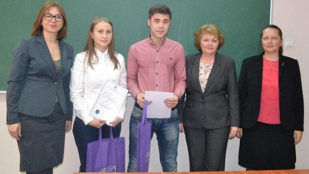 (foto) Doi studenți de la ASEM au obținut Bursa de Merit AGEPI