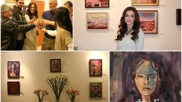(foto) Impresionismul în picturile artistei Olesea Cauș