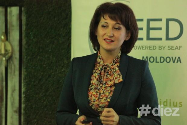 Viorica Petrov, speakerul evenimentului