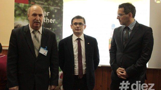 (foto) A fost inaugurat primul laborator performant pentru specialități TIC, finanțat de Guvernul Austriei