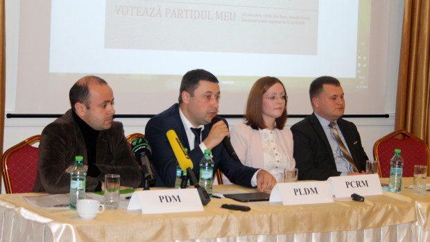(foto) Ce au promis tinerilor, reprezentanții organizațiilor de tineret ale partidelor politice