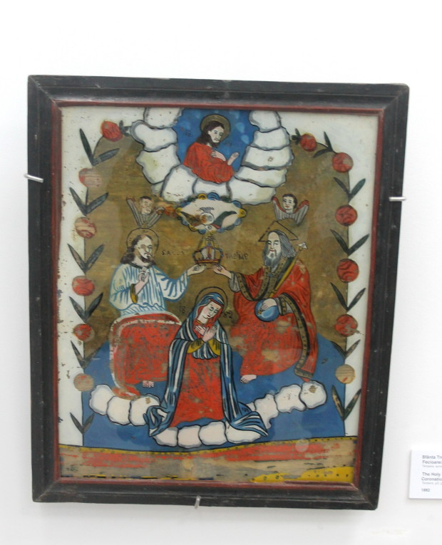 """Vernisajul expoziției """"Icoane pe sticlă"""" la Muzeul Național de Artă al Moldovei"""