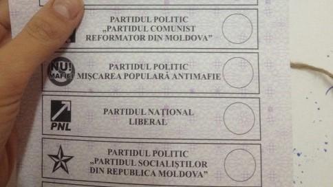 Alegeri 2014:  Este interzisă fotografierea buletinelor de vot