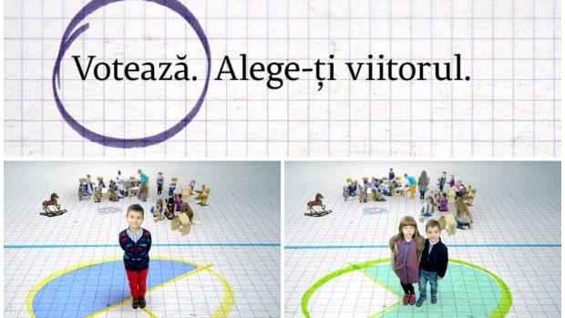 (video) Alege viitorul tău și al copiilor tăi. Votează!