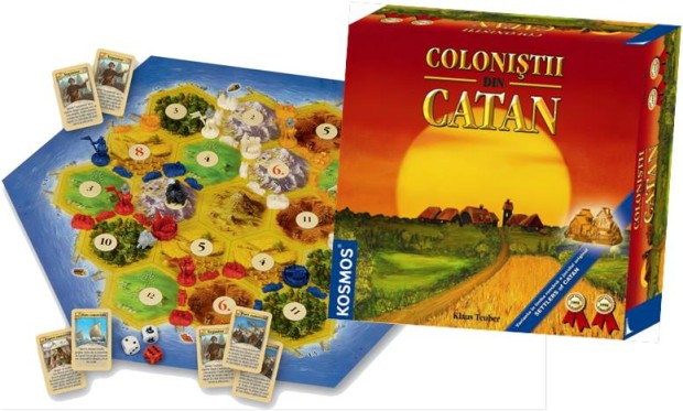 Coloniștii din Catan PC: joc.md
