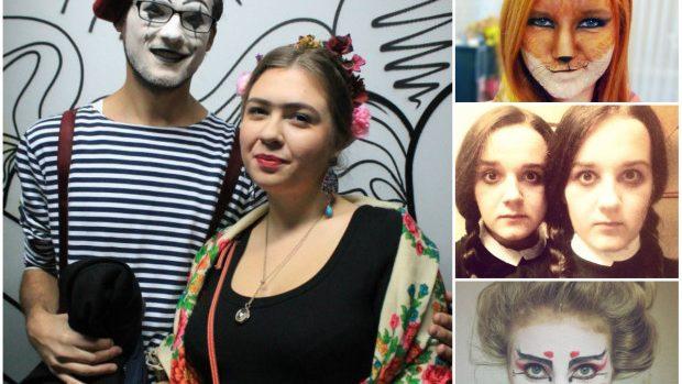 (foto) Cele mai interesante costumații de Halloween ale tinerilor din Moldova