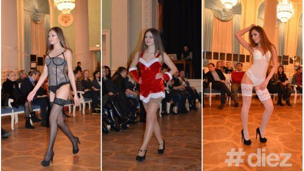 (foto) Moldovencele au defilat doar în lenjerie intimă la Art & Fashion Show