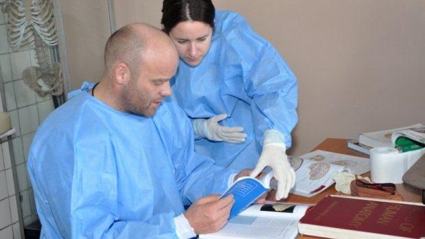 (foto) Studenții danezi vin în Moldova pentru a face cursuri practice de anatomie