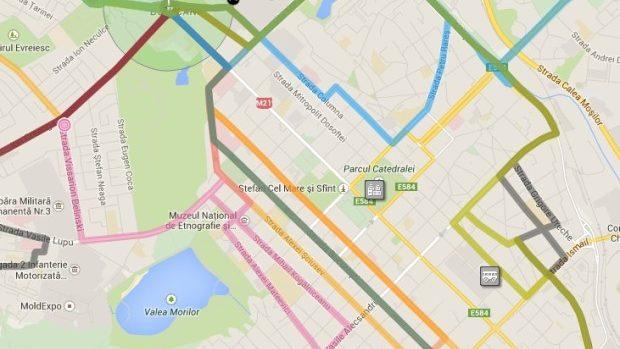 (foto) Cele mai strategice stații din centrul Chișinăului la care să aștepți microbuzul