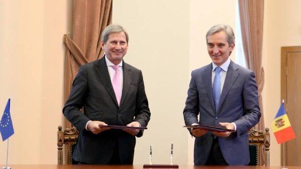Un nou document semnat între Moldova și Uniunea Europeană