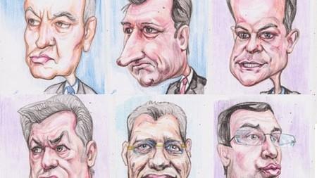 (foto) Caricaturi de politicieni. Cum au fost ironizați aceștia?