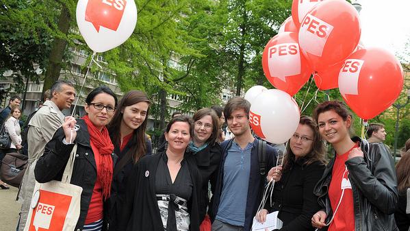 Cinci voluntari ai Partidului Socialiștilor Europeni au venit să facă schimb de experiență electorală cu PDM