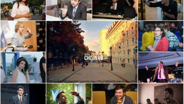 Top 12 cei mai proactivi tineri din Chișinău în 2014
