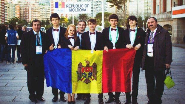 Elevii moldoveni au cucerit 25 de medalii în anul 2014