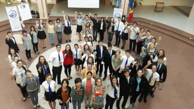 (foto) Liceul Academiei de Științe din Moldova – oportunitatea de a face studii europene