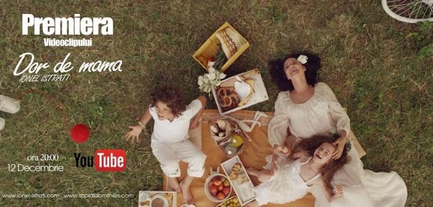 "(video) Ionel Istrati a lansat un videoclip emoționant la piesa ""Dor de mama"""