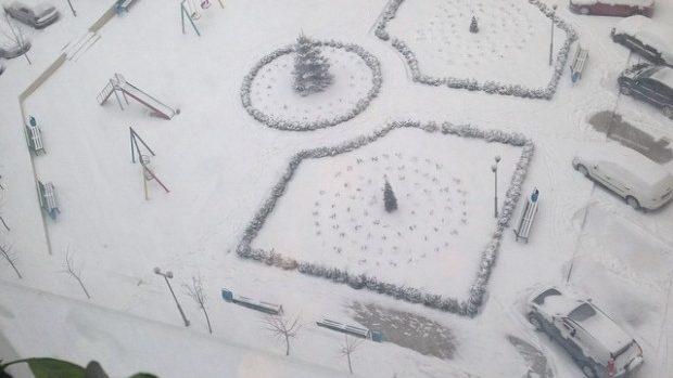 (foto) Codul Portocaliu de ninsoare văzut prin filtrele de Instagram