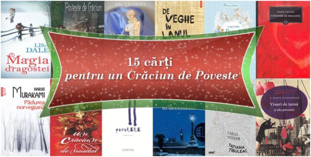 15 cărți pentru un Crăciun de Poveste