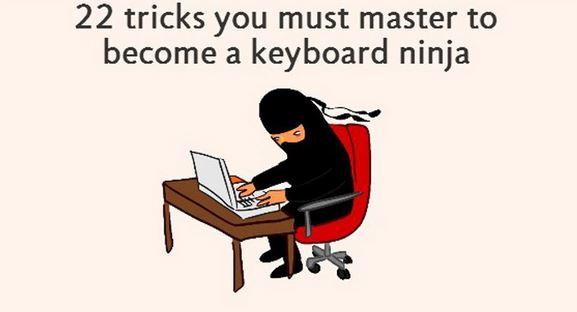 (foto) 22 de trucuri care te vor face maestru în utilizarea tastaturii