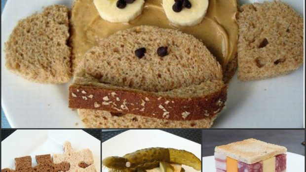 (foto) Vezi cât de creative pot deveni simplele tartine pregătite în grabă la fiecare dejun