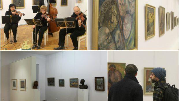 (foto) Expoziția de pictură a lui Auguste Baillayre – primul director al Muzeului Național de Artă