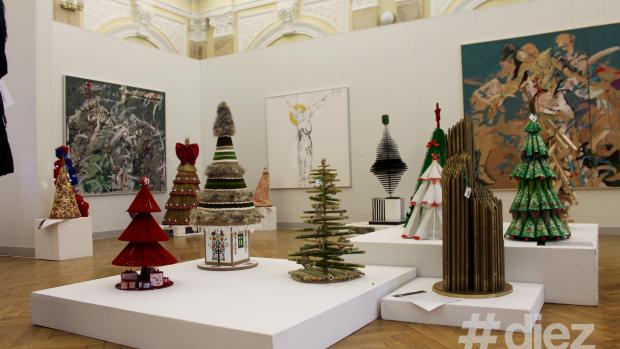 """(foto) Cei mai frumoși brazi și-au dat întâlnire la """"Expoziția Brazilor de Crăciun"""""""